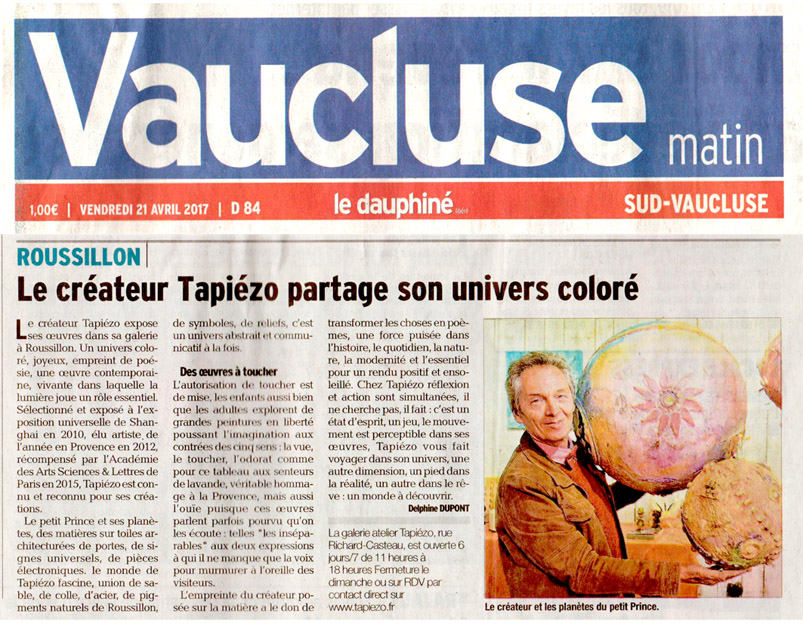 vaucluse journal